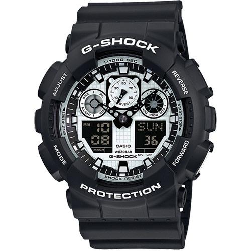 Casio G-Schock GA-100BW-1AER